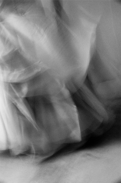 Untitled #1043 (Full Frame Skirt, Bridal Series), 2001