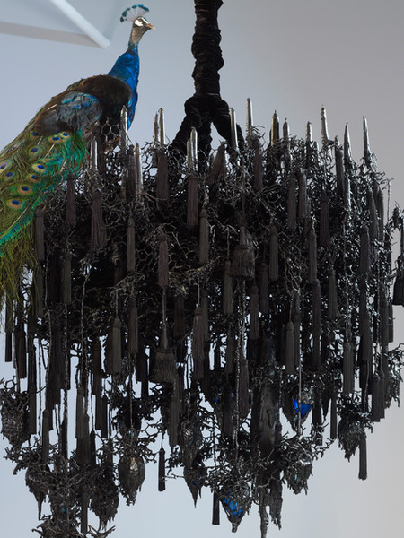 Untitled #1242 (Black Snowflake), 2007 - 2012, detail