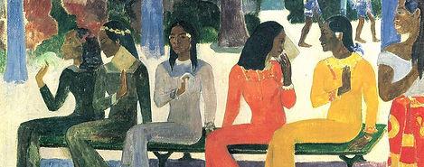 Gauguin, Ta Matete, 1892