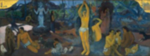 Paul Gauguin,  D´où venons nous? Qui sommes nous, Où allons nous? 1897