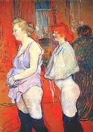 Henri de Toulouse-Lautrec, La visite médicale, ca.1894