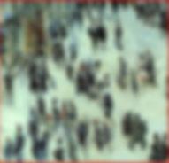 Claude Monet, bvd des Capucines, détail