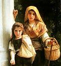 William Adolphe Bouguereau, Les petites mendiantes, 1890