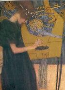 Gustav Klimt, Musique I, 1895