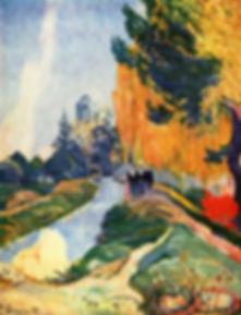 Paul Gauguin, Les Alyscamps, 1888
