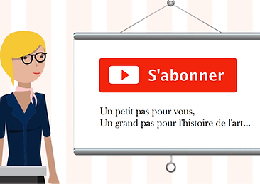 Art d'Hitoire abonnement YouTube