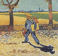 Vincent van Gogh, Le peintre allant au travail1888, détruit à Magdebourg 1945
