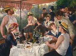 Auguste Renoir,  Le déjeuneur des canotiers, 1881