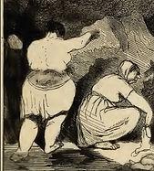 Bertall, La terrible Savoyarde, 1853