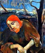 Paul Gauguin, Christ au jardin des oliviers, 1889