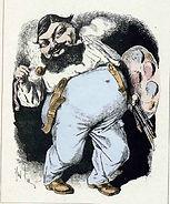 Gill, « Courbet avant la lettre »