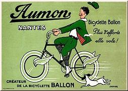 Marcel Jacquier, Aumon Nantes, Pneus Dunlop, ca. 1920
