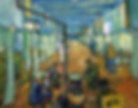 Vincent van Gogh, Salle de l'hôpital Saint-Rémy, 1889
