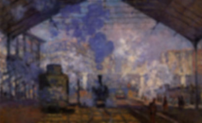 Claude Monet, La gare Saint Lazare,1877