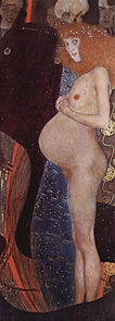 Gustav Klimt, L'espoir 1, 1903