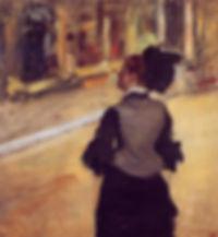 Edgar Degas Femme vue de dos 1879
