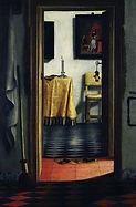 Samuel von Hoogstraten Vue de couloirs  1662