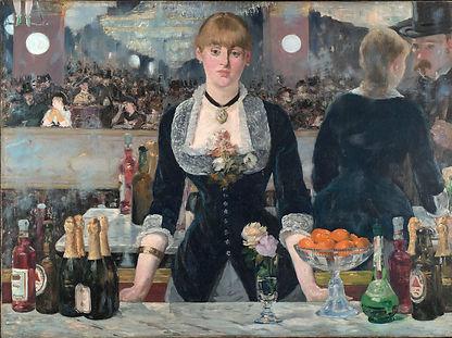 Edoard Manet, un bar aux Folies Bergères, 1881-1882