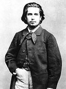 Claude Monet Jeune  par Carjat 1860