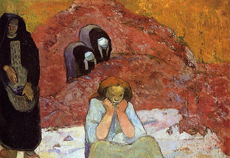 Paul Gauguin, Les vendanges à Arles, 1888