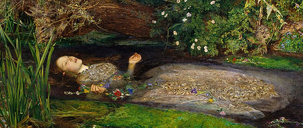 Sir John Everett Millais, Ophélie, 1852