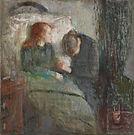 Edvard Munch, L'enfant malade, 1885-86