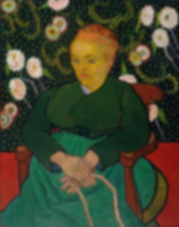 Vinvent van Gogh, La Berceuse, 1888