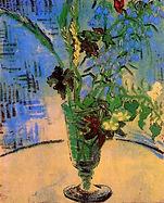 Vincent van Gogh, Nature morte avec fleur sauvage 1890