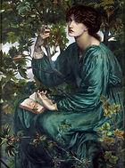 Gabriel Dante Rossetti Rêverie, 1880