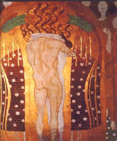 14) Gustav Klimt, Frise beethoven.png