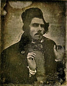 Léon Riesener, Delacroix aux mains levées