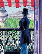Gustave Caillebotte, L´homme au balcon, 1880