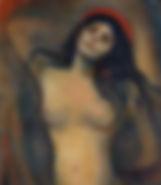 Edvard Munch  La Madone 1894/95