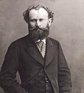 Photographie Edouard Manet par Nadar, 1874