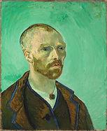 """Vincent van Gogh,  Autoportrait """"dédié à mon ami Paul Gauguin"""", 1888"""