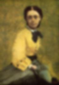Edgar Degas, La Princesse Metternich,ca.1860
