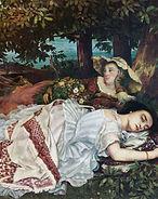 Gustave Courbet, Les demoiselles des bords de la Seine (été), 1857