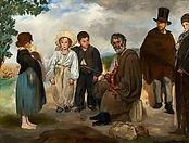 Edouard Manet, Le vieux musicien, 1862