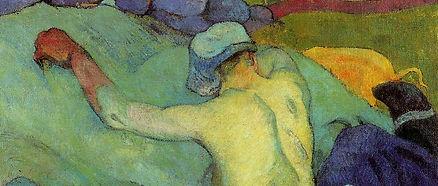 Paul Gauguin, En pleine chaleur ou Les cochons, 1888