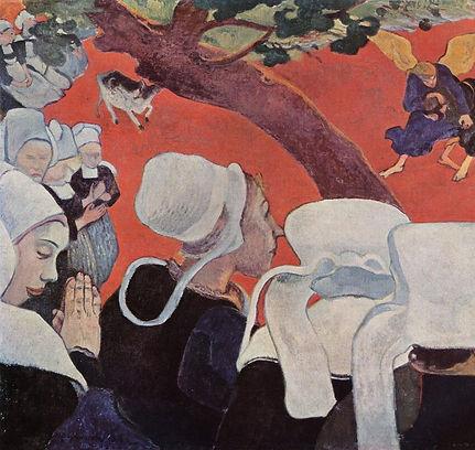 Paul Gauguin, la vision après le sermon, 1888