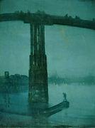 James Whistler, Le Pont de Battersea, 1872-3