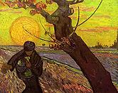 Vincent van Gogh, Le semeur, novembre 1888