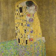 Gustav Klimt, Le Baiser, 1908