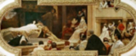 Gustav Klimt,  Théâtre de Shakespeare, Burgtheater Vienne,1886-88