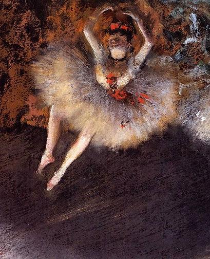 Edgar Degas, Le pas battu, ca. 1879