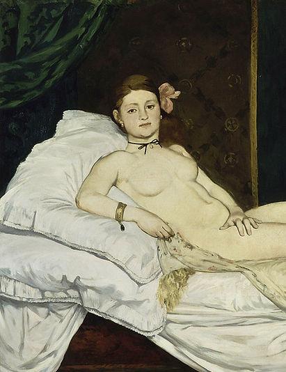 Edouard Manet, Olympia, 1863-65