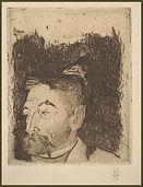Paul Gauguin,  Stéphane Mallarmé, 1891