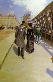 Gustave Caillebotte, Le Pont de l´Europe,1876