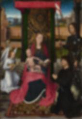 Hans Memling  Vierge à l´enfant, 1480