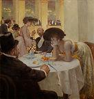 Josef Engelhart, Loge dans la Sofiensal, 1903